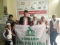 Forkammi Kunjungi Titik Pengungsian di Palestina