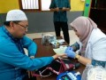 DKM Al Madani Gelar Donor Darah Gandeng PMI dan Forkammi