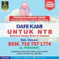 Himbauan Penting Ketua Umum Forkammi Terkait Bencana Gempa Lombok