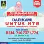 Forkammi Galang Bantuan Gempa Lombok dan Bali