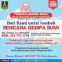Donasi Forkammi Peduli Lombok Tembus 144 Juta