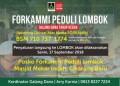 Masjid Mekar Indah, Posko Forkammi Peduli Lombok Tahap Kedua
