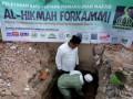 Bangun Kembali Masjid Al-Hikmah Lombok, Forkammi Lakukan Peletakan Batu Pertama