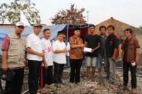 Forkammi Bidang Sosial Salurkan Donasi Korban Kebakaran Cikarang Kota