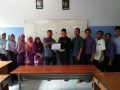 Sukses Tabligh Akbar Ustad Abdul Somad, Forkammi Berikan Certificate of Apreciation Pada SMPIT Al Fawwaz