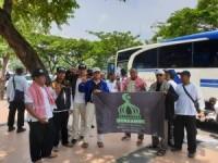 Bidang Hisbah Forkammi Berikan Dukungan KH.Slamet Ma'arif di Semarang