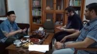 2 Orang Aktifis Sosial Palestina Kunjungi Ketua Umum Forkammi Ust Imam Hambali